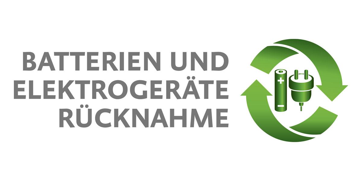Bessere Kennzeichnung durch einheitliches Logo für Batteriensammlung