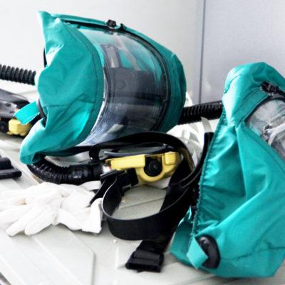 Arbeitsschutz hat oberste Priorität (Foto: Katrin Sturm)