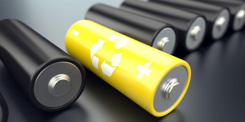 Recyclingtechnologie Batterien (Foto: D3Damon, iStock)