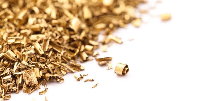 Recycling von Metallspänen (Foto: Liuhsihsiang, iStock)
