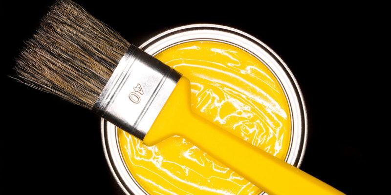 Titanoxid als Bestandteil von Farben (Foto: gemenacom, iStock)