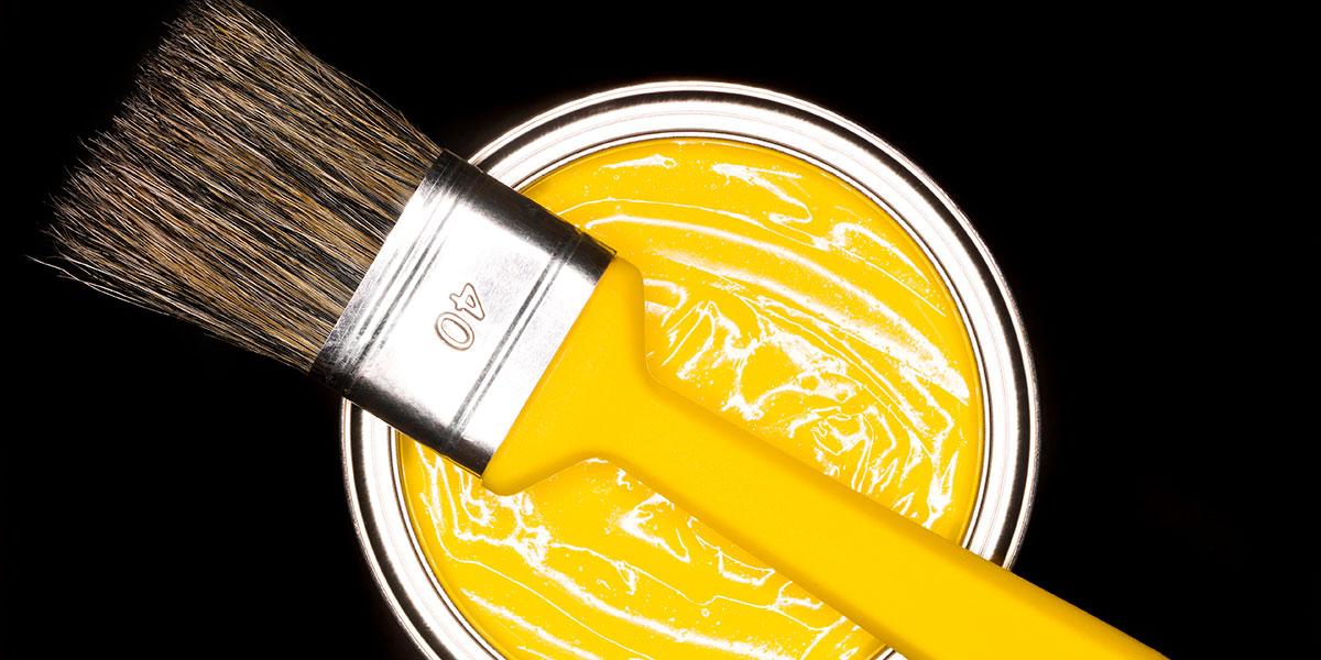 Für sämtliche Farben und Lacke ist Titanoxid ein unverzichtbarer Bestandteil