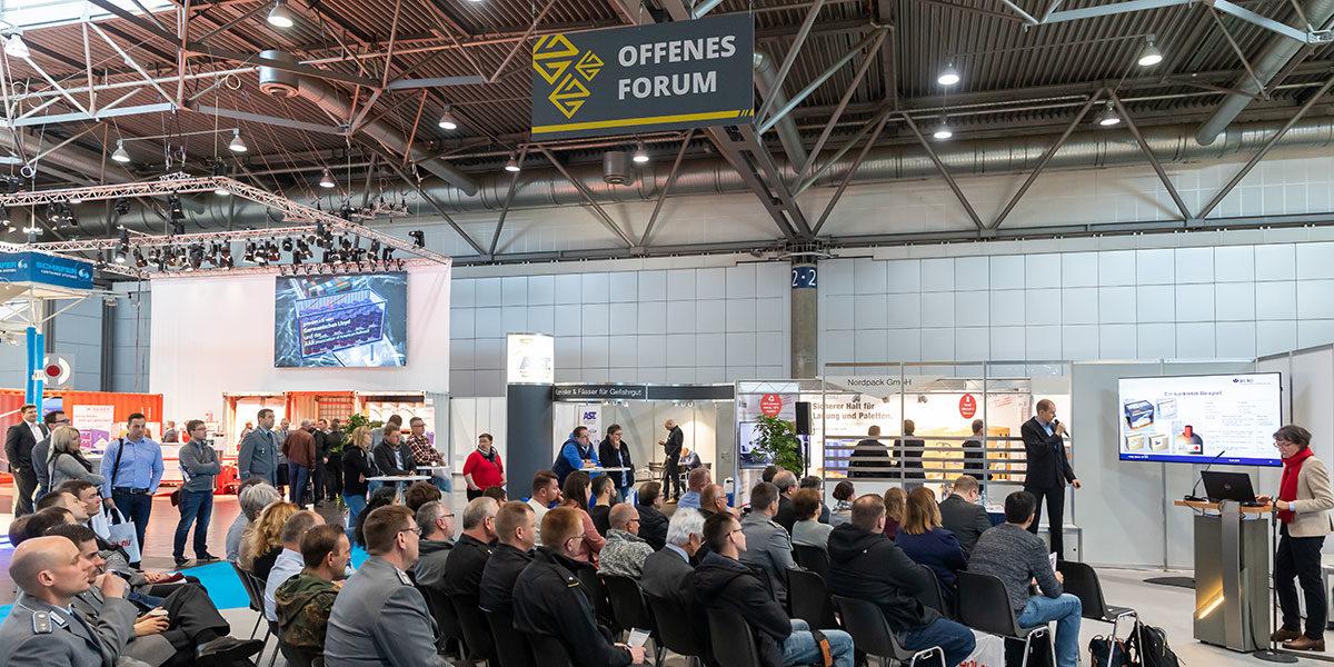 Auf der GGS Messe (Foto: Tom Schulze, Leipziger Messe GmbH)