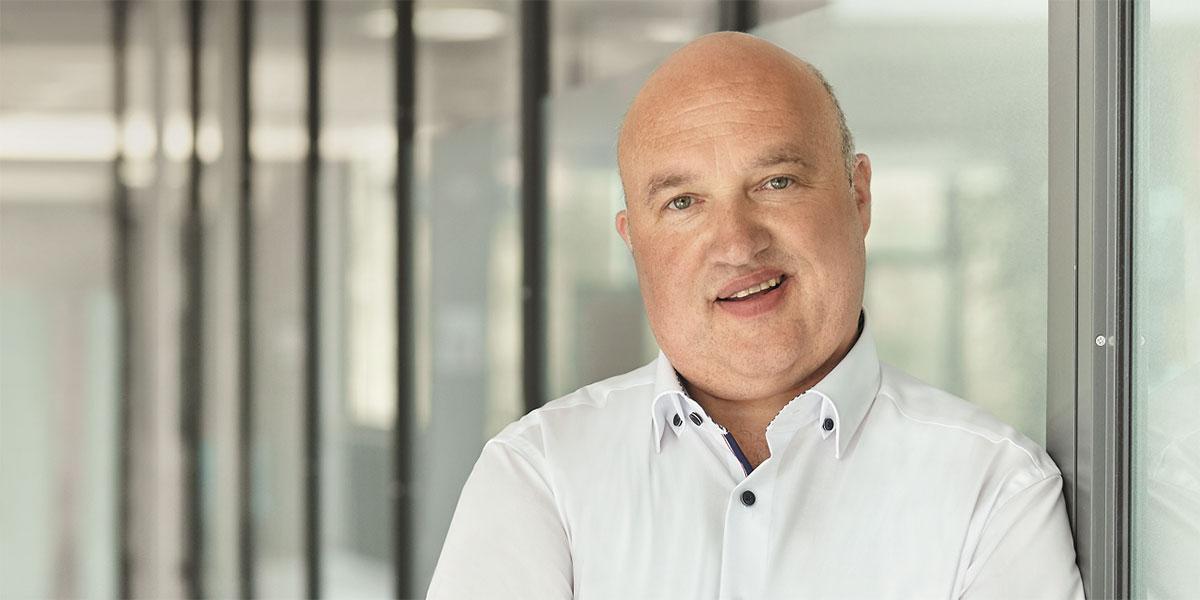 Abfallbeauftragter Matthias Rink gestaltet die Entsorgung im Uniklinikum Marburg ressourcenschonend und nachhaltig