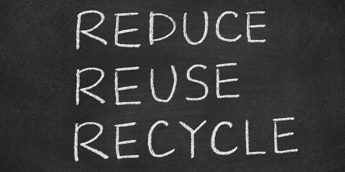 Reduce, Reuse, Recycle (Foto: Sean824, iStock)