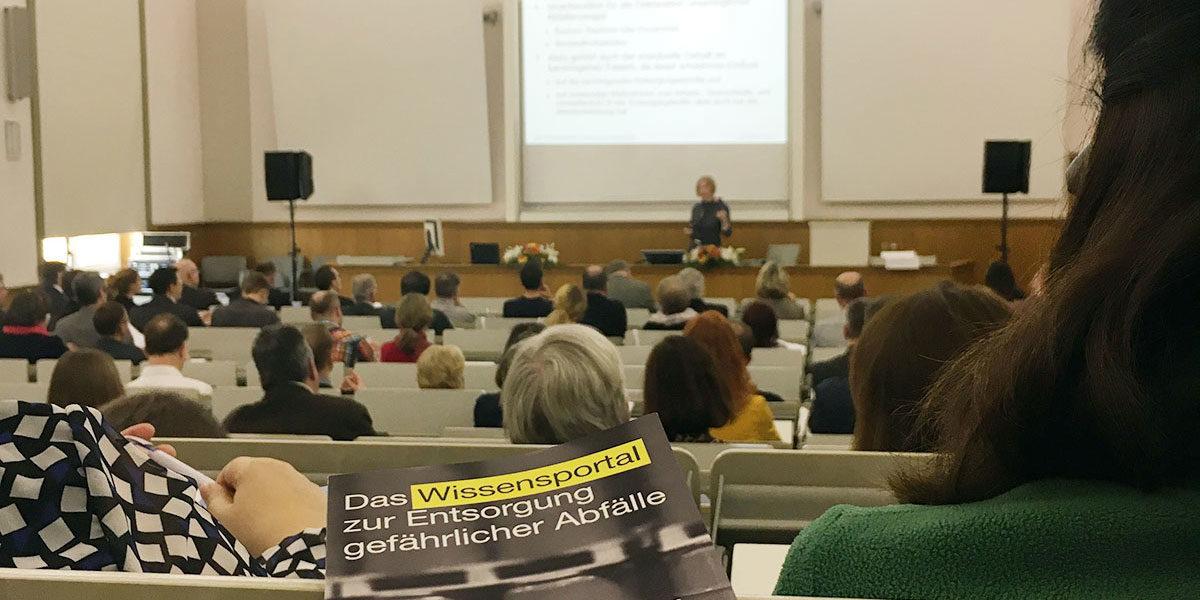 Deponiefachtagung in Leipzig (Foto: privat)