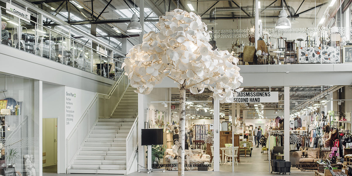Erstes Recycling-Kaufhaus der Welt zieht positive Bilanz (Foto: Lina Östling)