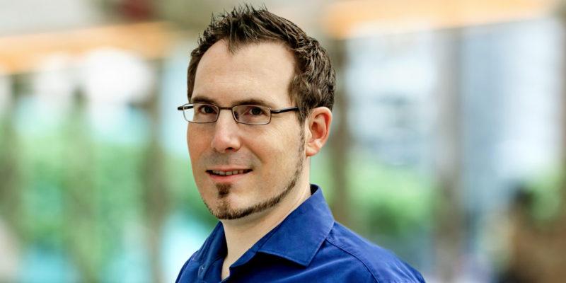 Dr.-Ing. Philipp Woock, wissenschaftlicher Mitarbeiter am Fraunhofer IOSB Karlsruhe
